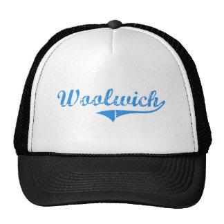 Diseño clásico de Woolwich Maine Gorra