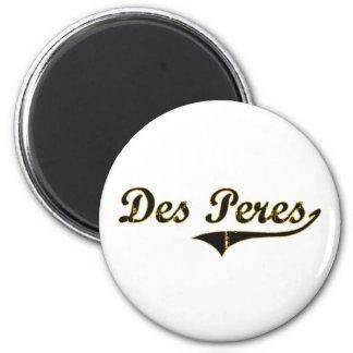 Diseño clásico del DES Peres Missouri Imán Redondo 5 Cm