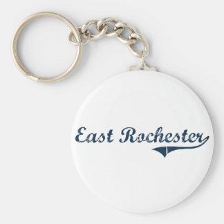Diseño clásico del este de Rochester Nueva York Llavero Personalizado