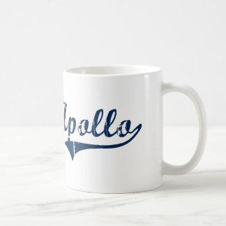 Diseño clásico del norte de Apolo Pennsylvania Taza De Café