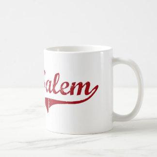 Diseño clásico del oeste de Salem Ohio Taza De Café
