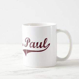 Diseño clásico del oeste de San Pablo Minnesota Taza De Café