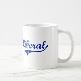 Diseño clásico liberal de Kansas Tazas De Café