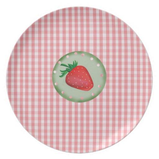diseño clásico plato para fiesta