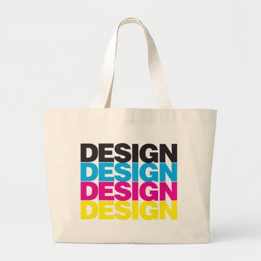 Diseño CMYK Bolsa Lienzo