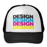 Diseño CMYK Gorros