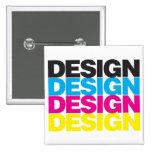 Diseño CMYK Pin