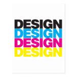 Diseño CMYK Postal
