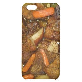 diseño cocido horno de la comida de las patatas de