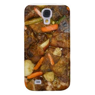 diseño cocido horno de la comida de las patatas de funda para galaxy s4