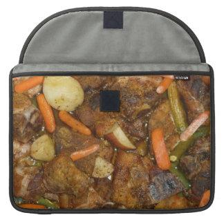 diseño cocido horno de la comida de las patatas de fundas macbook pro