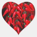 Diseño colgante candente de la imagen de las pegatina corazón personalizadas