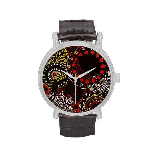 """Diseño """"color de Edart el tiempo """" Reloj De Mano"""