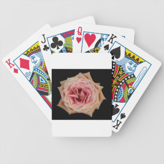 Diseño color de rosa de la foto del arte cartas de juego