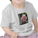 Diseño color de rosa de la fotografía del Cockatoo Camiseta