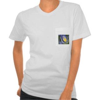 diseño coloreado agradable camisas