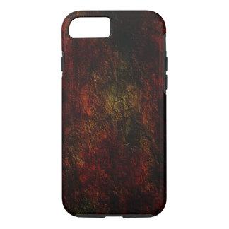 Diseño coloreado de la textura funda iPhone 7