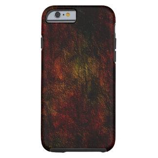 Diseño coloreado de la textura funda resistente iPhone 6