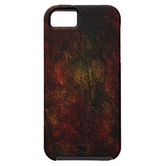 Diseño coloreado de la textura iPhone 5 funda
