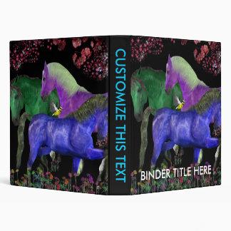 """Diseño coloreado fantástico del caballo, parte carpeta 1"""""""