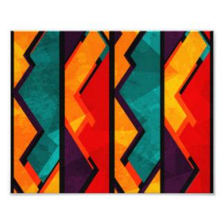 Diseño coloreado multi africano de la impresión cojinete