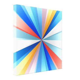Diseño coloreado multi del arte de la explosión de impresión en lona