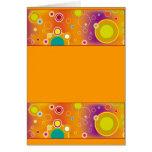 Diseño colorido 04 tarjetas