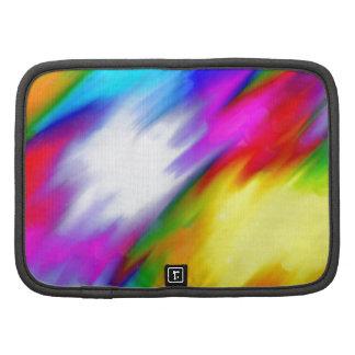 Diseño colorido abstracto organizador