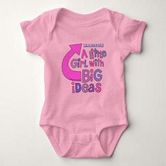 """Diseño colorido brillante intrépido de las """"ideas body para bebé"""