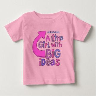 """Diseño colorido brillante intrépido de las """"ideas camisas"""