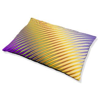 Diseño colorido cama para perro grande