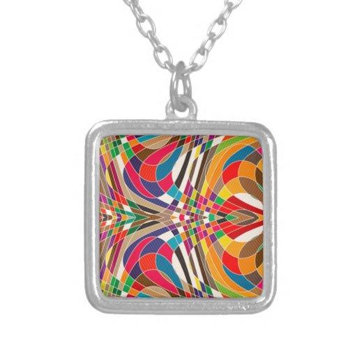Diseño colorido colgante
