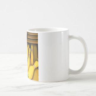 Diseño colorido de la foto divertida del Pin de la Taza De Café