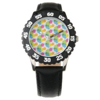 Diseño colorido de la pintura de Paintball Relojes De Mano