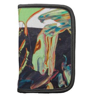 Diseño colorido de la pintura del arte abstracto planificador