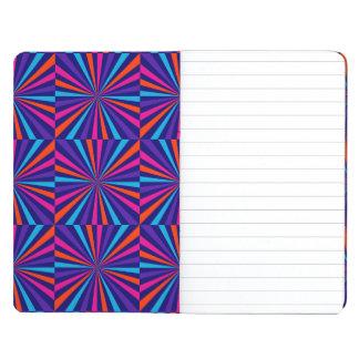 Diseño colorido de la rueda de hilado de la explos cuadernos