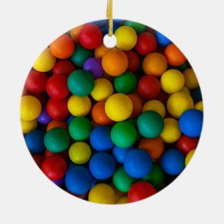 Diseño colorido de las bolas adorno redondo de cerámica