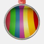Diseño colorido del arco iris ornamentos para reyes magos