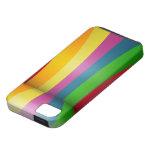Diseño colorido del arco iris iPhone 5 fundas