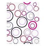 Diseño colorido del círculo membrete a diseño