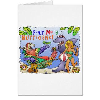 Diseño colorido del fiesta de la playa tarjetón