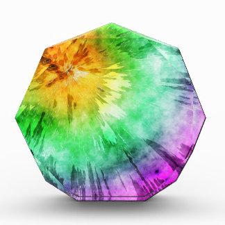 Diseño colorido del teñido anudado