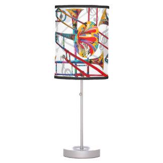 Diseño colorido del Trombone de la lámpara del