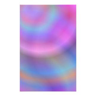 Diseño colorido folleto 14 x 21,6 cm