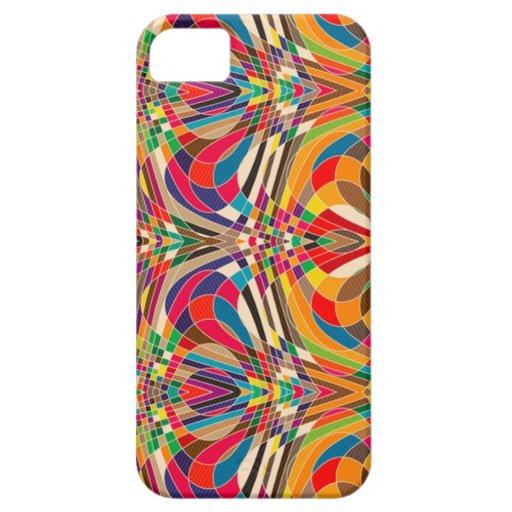 Diseño colorido iPhone 5 carcasas