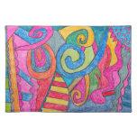 Diseño colorido Placemats de la diversión