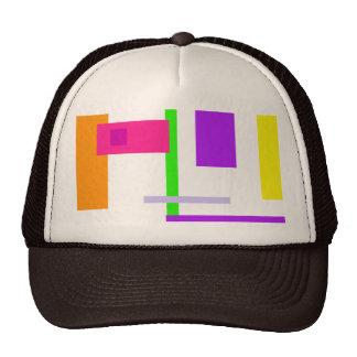 Diseño colorido simplista gorra