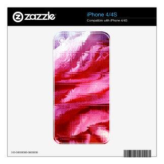 diseño colorido skin para el iPhone 4S