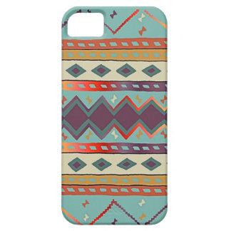 Diseño combinado indio del sudoeste funda para iPhone 5 barely there