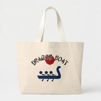 Diseño completamente adaptable del barco del dragó bolsa de mano